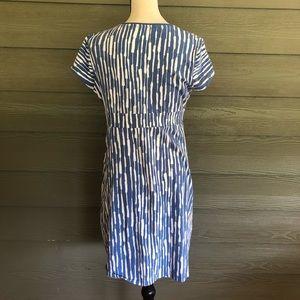 Boden Dresses - Boden wrap dress boho short sleeve stretchy US 10P